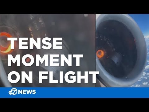 The Woody Show - Airplane Engine Falls Apart In-Flight