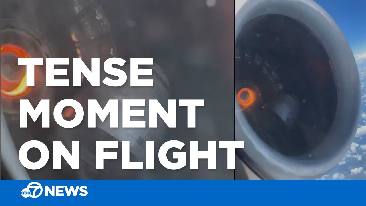 Part of engine comes loose during Delta flight