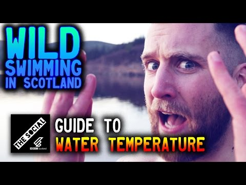 Wild Swimming - Water Temperature