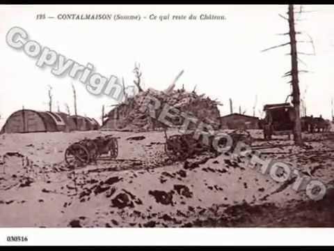 Communes de la  Somme  /   Contalmaison