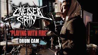 Chelsea Grin Playing With Fire Drum Cam LIVE