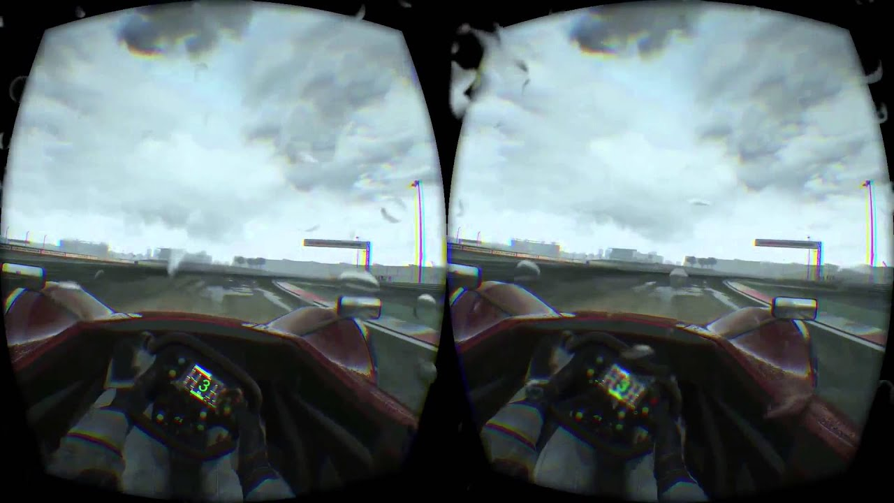 PROJECT CARS THE RAIN EFFECTS OMG !!!! VR DK2 IMMERSION WOW