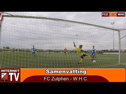 Samenvatting FC Zutphen - WHC (0-4)