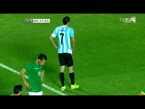 Angel di Maria vs Bolivia (H) 14-15 HD 720p by Silvan