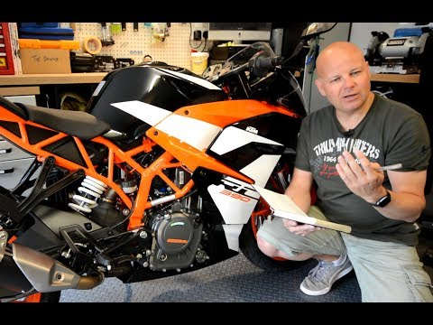 Living with the 2017 KTM RC390 - Long Term Review