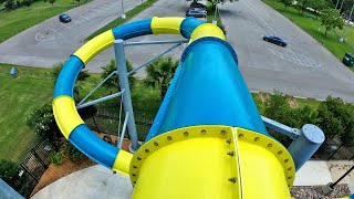 Fast SPEED SLIDE at Strawberry Water Park