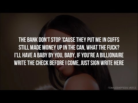 Nicki Minaj, Amil, Lil' Kim, & Remy Ma - I Get Money (Remix) [Lyrics - Video]