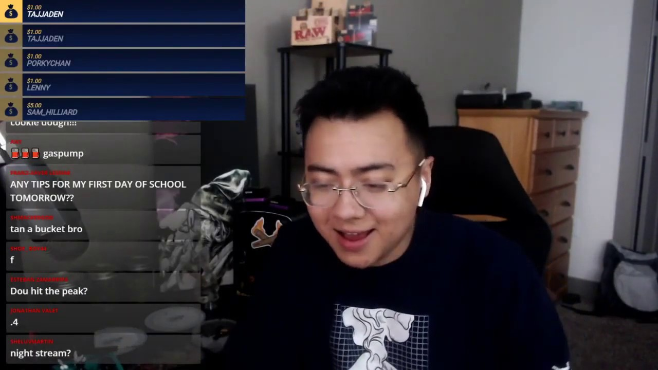 9. April Stream