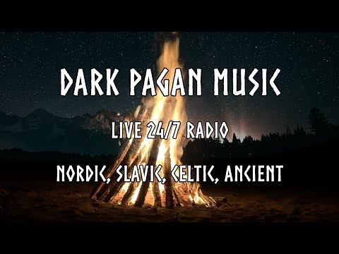 Dark Pagan Music Radio 🐺 Viking, Slavic, Celtic, Ancient Folk Ambient 24/7