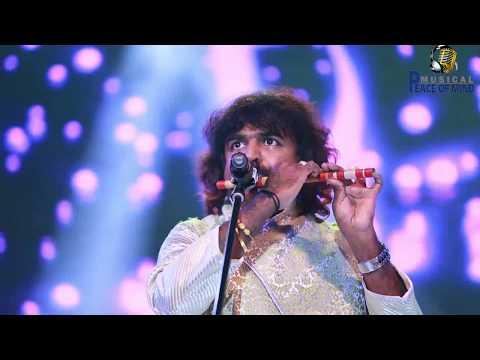 Pandit Pravin Godkhindi plays raag Pahadi   Flute and Tabala Jam