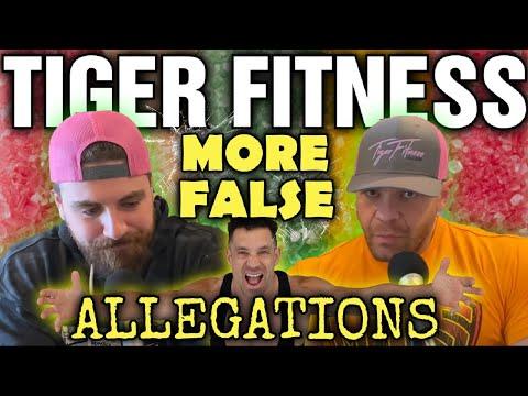 Tiger Fitness (Mark Lobliner)     More False Allegations!!!