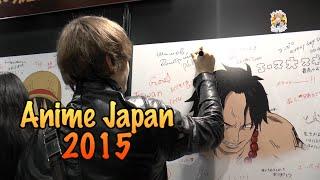 Япония. Anime Japan 2015. Раменная Наруто и Привет из России
