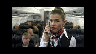 Fischgericht im Flugzeug