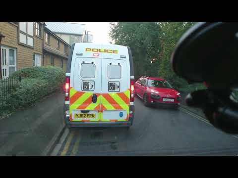 YJ62FRK Casualty reduction van 25th september Manchester road after 6:00pm
