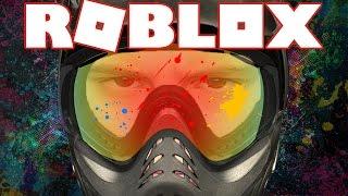 DIT IS GEKKENHUIS !!   Roblox Mad Paintball
