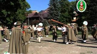Pokazd musztry i koncert Orkiestry Reprezentacyjnej SG - Zakopane 2011 r. - część 1