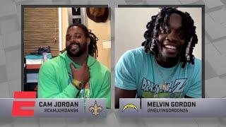 Madden NFL Celebrity Tournament Highlights: Cam Jordan vs. Melvin Gordon | ESPN