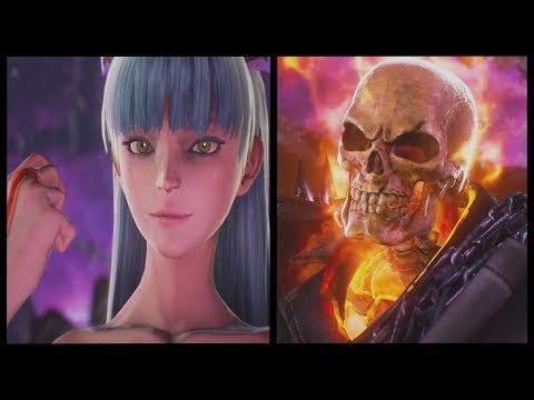 Marvel Vs Capcom Infinite - Ghost Rider And Morrigan's First Appearance