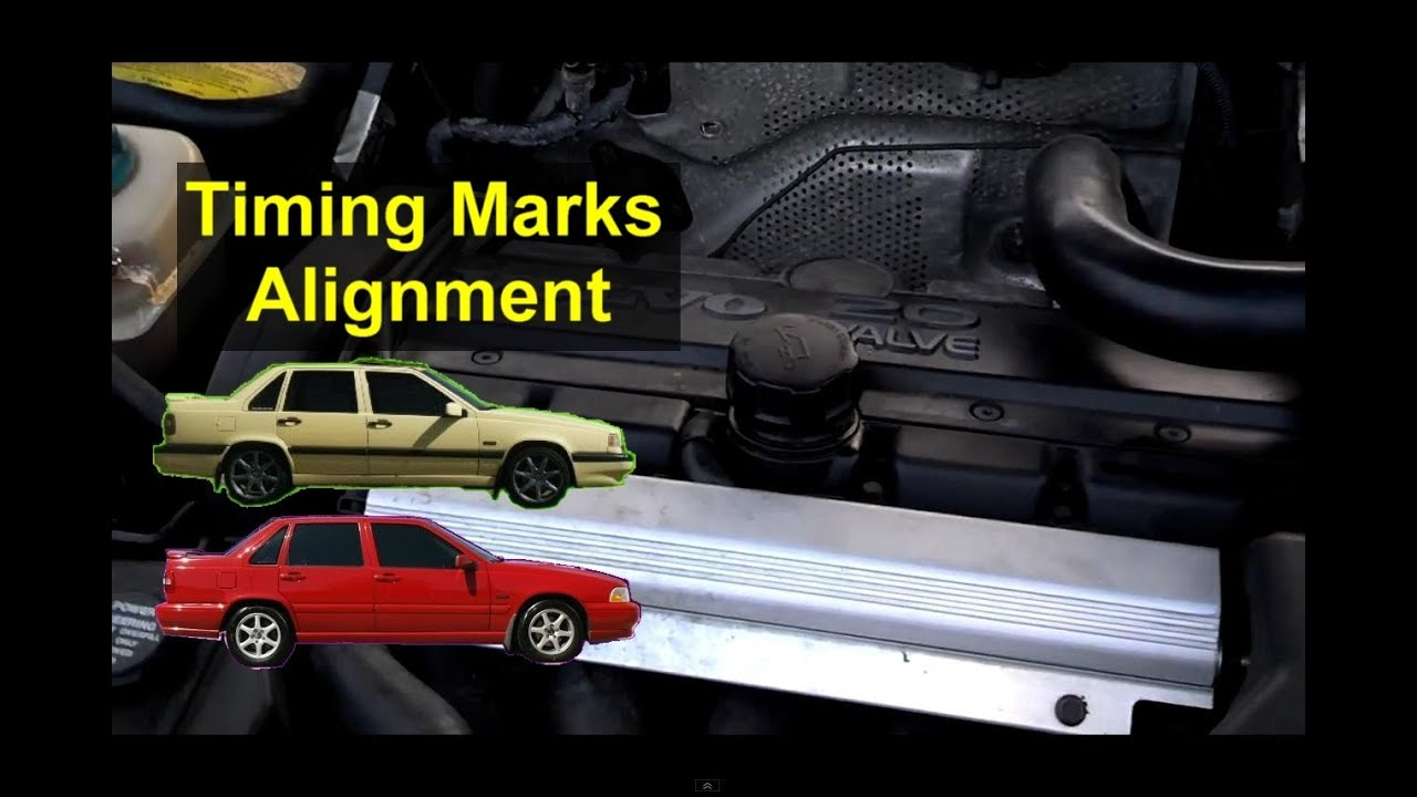 volvo timing alignment  cams moved during timing belt