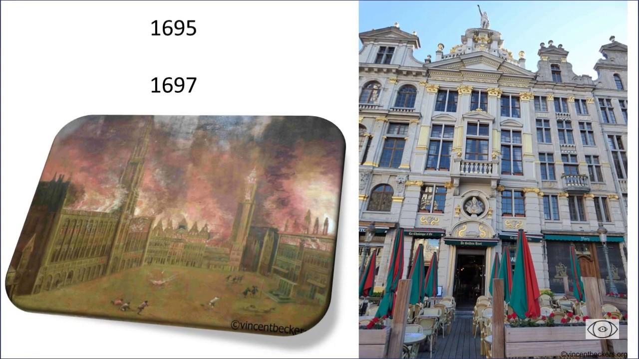 Comprendre la Chaloupe d'Or, à la Grand-Place de Bruxelles.