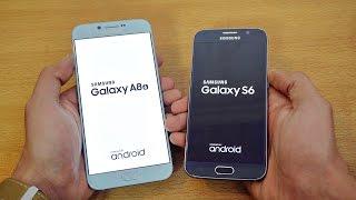 Samsung Galaxy A8 (2016) vs Galaxy S6 - Speed Test! (4K)