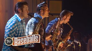 The Baseballs - Never Ever (ZDFkultur Zeltfestival, 16.09.2012)