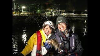 広瀬達樹さんと釣女ちゃこが今回紹介するのは冬の定番、ロックフィッシ...