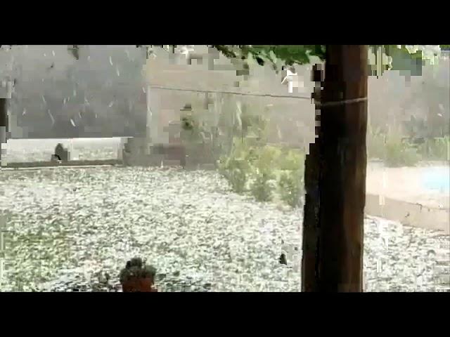 18/10/2020 - Fortes tempestades de granizo na Argentina | METSUL
