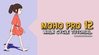 Walk Cycle Tutorial | MOHO PRO 12 | English