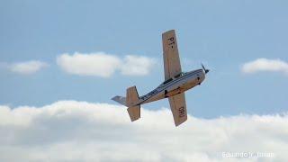 Cessna 210N Centurion II (PT-ORU) decolagem - Sinop/MT