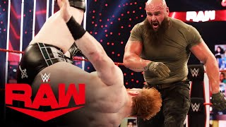 Keith Lee vs. Braun Strowman vs. Sheamus – Triple Threat Match: Raw, Nov. 2, 2020