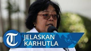 Seusai Bertemu Presiden Jokowi, Siti Nurbaya Bakar Ditodong Pertanyaan Media soal Kebakaran Hutan