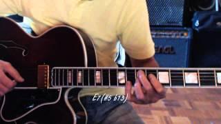 Blue in Green - Solo Jazz Guitar - Melody Harmonization