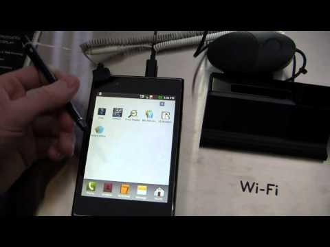 LG Optimus Vu Hands-On
