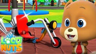велосипед Алекса    мультфильмы для детей   детские видео   Loco Nuts Russia   веселые