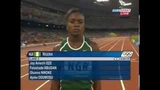 2008 Beijing Olympics 2008 Women 4X400m Final