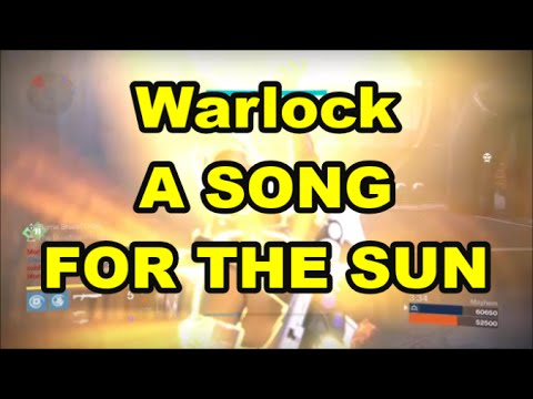 Destiny A SONG FOR THE SUN Warlock Quest. PAEAN OF RESPLENDENCE Emblem Part #1