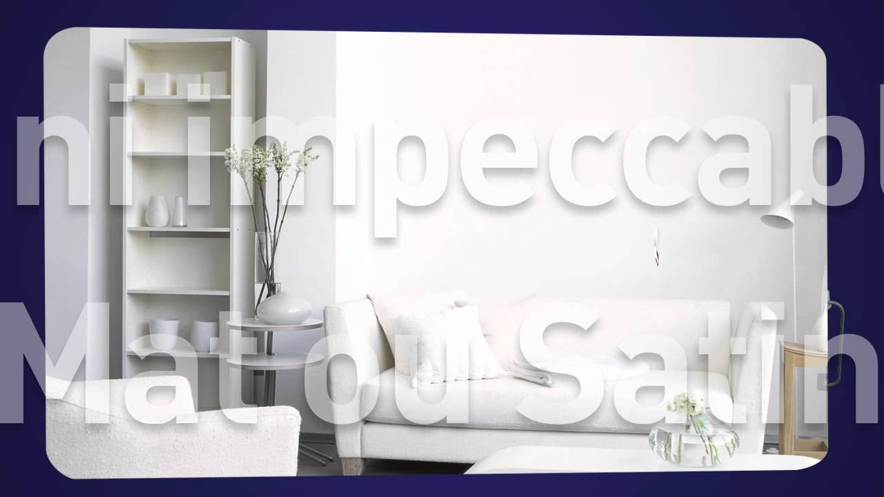 peinture blanche monocouche cr me de peinture dulux valentine youtube. Black Bedroom Furniture Sets. Home Design Ideas