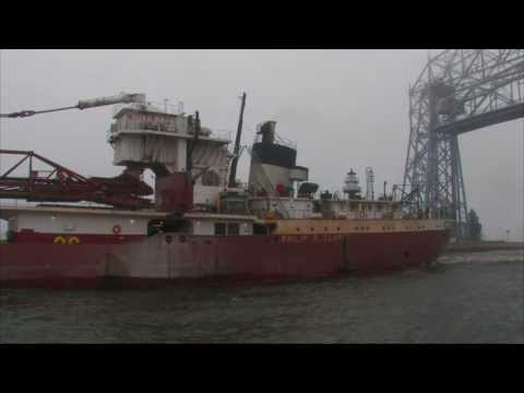The Ships of Clouds, Rain, and Fog: Twin Ports Vessel Traffic July 8-10, 2013