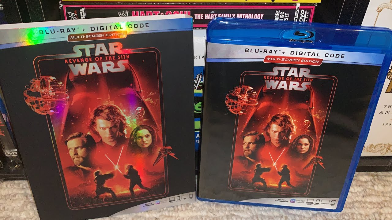 Star Wars Revenge Of The Sith Blu Ray Review Youtube
