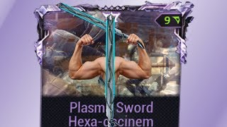 Warframe: The Ultimate Plasma Sword