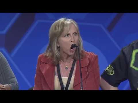 Sylvanas Voice actor Patty Mattson, Blizzcon 2017