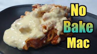 No baked macaroni