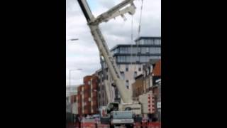 Southern cranes liebherr ltm 1350 in Reading 2015