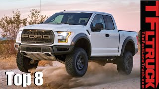 Top 8 New 2017 Trucks & Beyond: The Most Anticipated Pickup We Can't Wait to Drive