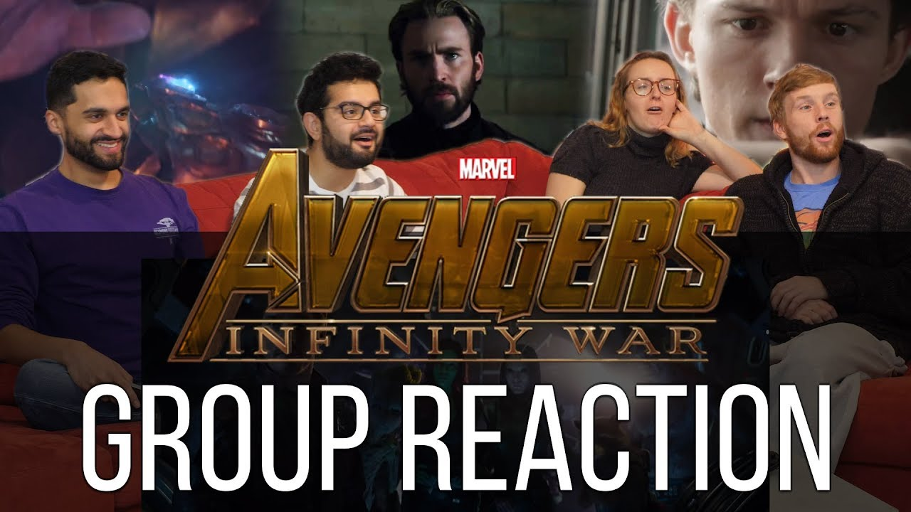 Disney's Marvel's Avengers Infinity War Official Trailer Group Reaction!