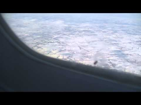 Delta CRJ900 DTW to MCI Flight and Landing