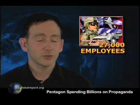 Pentagon Spending Billions on Propaganda