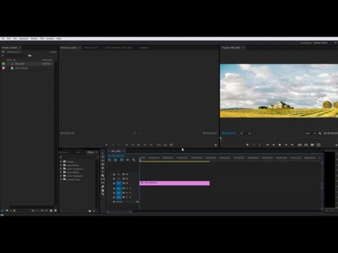 How to show Work Area Bar in Premiere Pro CC 2014