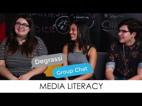 Degrassi Group Chat: Media Literacy
